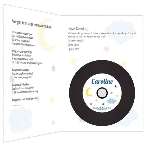XL Weltrusten CD-kaart binnenkant